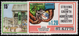 St Kitts 1986 Agricultural Exhibition Unmounted Mint. - St.Kitts And Nevis ( 1983-...)