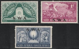 South West Africa 1949 - SG 138/140 - Inauguration Of Voortrekker Monument - MNH SET - South West Africa (1923-1990)