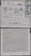 """Belgique COB 125*2 Sur Bordereau De Poste """" Huy """" 22/06/1914 (DD) DC2774 - 1912 Pellens"""
