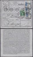 """Belgique COB 110 + 125*3 Sur Bordereau De Poste """" Brugge """" 16/07/1914 (DD) DC2779 - 1912 Pellens"""