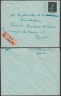 """Belgique 1948 -Lettre En Recommandé Agence """" Forest Bruxelles 21 """"  Vers Mechelen (DD) DC3363 - 1946 -10%"""