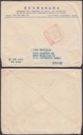 """Vietnam 1955- Lettre Pour L'allemagne Cachet Rouge """" Postes Hanoi """" (BE) DC 3377 - Vietnam"""
