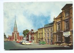 Lodelinsart Eglise Et Place ( Terrain De Balle Pelote - Combi VW ) - Charleroi