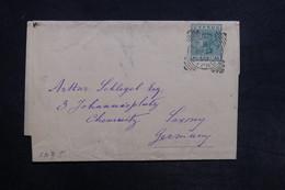 CHYPRE - Entier Postal De Larnaca Pour L 'Allemagne En 1896 - L 30831 - Chypre (...-1960)