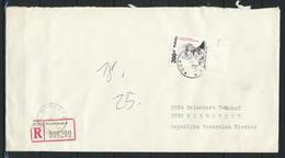 Polen, MiNr. 3176 Auf Brief / Einschreiben Aus Warszawa Nach Deutschland; E-47 - 1944-.... Republik