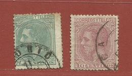 Espagne N° 184 -185 - Oblitérés