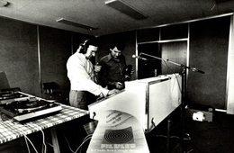 YVES DE L'ISLE/RUSH  MONTPELLIER, JULIET 1977, RADIO FIL BLEU   Francia  France Frankreich - Montpellier