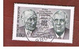 GERMANIA (GERMANY) - SG 2228 - 1988 FRANCO-GERMAN COOPERATION   - USED - [7] République Fédérale