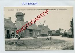 ICHTEGEM-MOULIN A Vent-WINDMUEHLE-Periode Guerre 14-18-1WK-BELGIEN-Flandern - Ichtegem