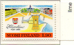 PIA - FINL  - 1989 : 350° Anniversario Della Città Di Hameenlinna   - (Yv 1033) - Neufs