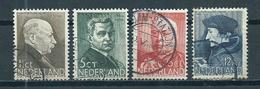 1936 Netherlands Complete Set Summer Welfare Used/gebruikt/oblitere - Period 1891-1948 (Wilhelmina)