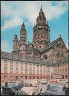 D-55116 Mainz - Dom - Leichhof - Cars - Opel Rekord - DKW - VW Käfer - Kirchen U. Kathedralen