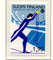 PIA - FINL  - 1989 : Campionati Mondiali Di Sci   - (Yv 1034) - Sci