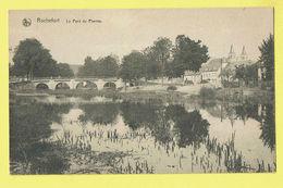 * Rochefort (Namur - La Wallonie) * (Nels, Série 11, Nr 21) Le Pont De Pierres, Bridge, Brug, Canal, Rare, Old - Rochefort