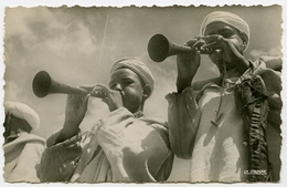 MAROC : SCENES & TYPES - JOUEURS D'AITA / MOROCCO - MUSICIANS - Music And Musicians