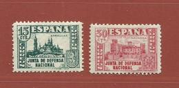 Espagne N° 570 - 572 - 1931-50 Usati