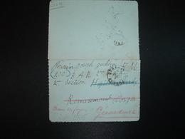 CL En FM OBL.24-11 39 GERARDMER VOSGES (88) + HOPITAL CHARLEY REMIREMONT - Marcophilie (Lettres)