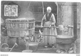 TOP  - EN BERRY  - LA BUANDIERE VOYAGEE 1905 - CARTE COTEE 60/91 Euros Bb-66 - A100-19 Eb - France