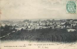 CPA 33 Gironde BLAYE Vue Générale Prise Du Monteil - Blaye