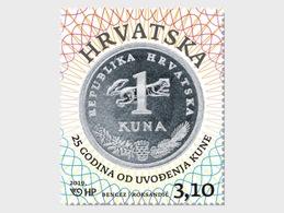 Kroatië / Croatia - Postfris / MNH - 25 Jaar Munteenheid, Kuna 2019 - Kroatië