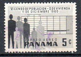 PANAMA. PA 224 Oblitéré De 1960. Recensement. - Panama