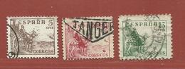 Espagne N° 785 - 786 - 787 - 1931-50 Usati