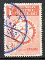 PANAMA. N°353 Oblitéré De 1962. Recensement Industriel Et Commercial. - Panama