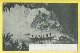 * Han Sur Lesse (Rochefort - Namur - La Wallonie) * Grottes De Han Sur Lesse, Lac D'Embarquement, Bateau, Grot - Rochefort