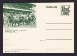 20 Pf. Bild-GS Pferde Mit Kutsche Hamburg-Horn  Ungebraucht - Chevaux