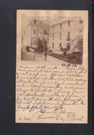 Cartolina Sorrento Hotel Cocumella 1897 - Italy