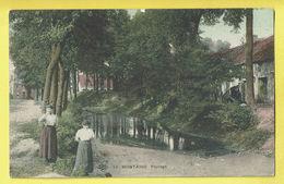 * Scherpenheuvel Zichem - Montaigu (Vlaams Brabant) * (SBP, Nr 10 - KLEUR) Paysage, Animée, Canal, Ferme, TOP - Scherpenheuvel-Zichem