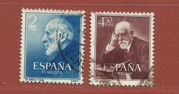 Espagne N° 832 - 833 - 1931-Aujourd'hui: II. République - ....Juan Carlos I