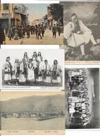 LOT DE 600 CARTES  ETRANGERES PETIT FORMATS. BON LOT A VOIR - Postcards