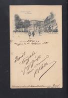 Tarjeta Malaga Acera De La Alameda 1897 - Málaga