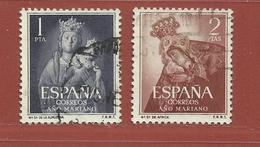 Espagne N° 850 - 851 - 1931-50 Usati