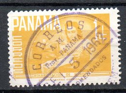 PANAMA. N°345 Oblitéré De 1961. Au Profit Du Comité De Réhabilitation Des Mineurs Délinquants. - Panama