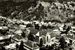 EN AVION AU-DESSUS DE...LAUTENBACH EGLISE ROMANE MONUMENT HISTORIQUE DU XI SIECLE Francia  France Frankreich - France