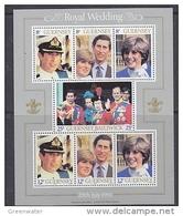 Guernsey 1981 Royal Wedding M/s ** Mnh (42958A) - Guernsey