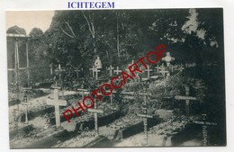 ICHTEGEM-Cimetiere Dt. Soldaten-Kerkhof-Guerre 14-18-1WK-BELGIEN-Flandern - Ichtegem