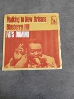 Disque De Fats Domino - Walking To New Orléans - Liberty LIF 509 F - 1968 - - Soul - R&B