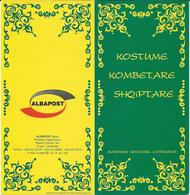 Albania 2001 Albanian National Costumes - Folklore Costumes - BOOKLET / Carnet ** MNH ( 2 Scan ) - Albania