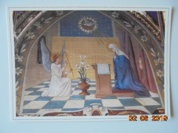 Paroisse Ste Marie Des Olonnes. Eglise Notre Dame De Bon Port. Fresque De L'Annonciation. E. Roy, 1913. Chapelle - Peintures & Tableaux