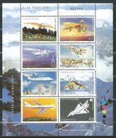 Albania 2001 History Of Aviation - Aviation/Airplanes/Space.MNH - Albanie