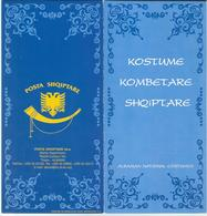 Albania 2002 Albanian National Costumes - Folklore Costumes - BOOKLET / Carnet ** MNH ( 2 Scan ) - Albania