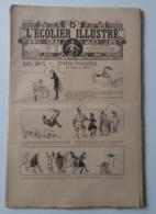 """L'ECOLIER ILLUSTRE 1907 - N° 12 A 15 - HISTOIRE DESSINEE """"ZIZI TOMY ET TONTON PANTOUFLE AU PAYS DES REVES """""""" - Livres, BD, Revues"""
