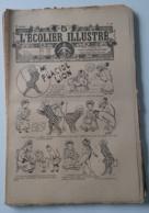 """L'ECOLIER ILLUSTRE 1907 - N° 28 A 35 - HISTOIRE DESSINEE """"MR PLACIDE LION"""" - Livres, BD, Revues"""