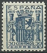 ESPAÑA 1936 EDIFIL 801  ** MNH - 1931-Heute: 2. Rep. - ... Juan Carlos I