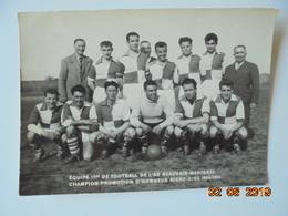 Equipe 1ere De Football De L'As Beauvais-Marissel Champion Promotion D'honneur Aisne-Oise 1954-1955 - Football