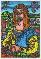 Cpm 1741/171 DANIEL BRUGES - Mona Lisa La Joconde - Illustrateurs - Illustrateur - Contemporain (à Partir De 1950)