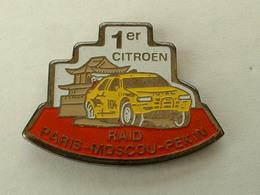 PIN'S RAID PARIS MOSCOU PEKIN - 1er CITROËN - Citroën